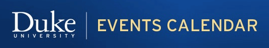 Duke University Events Calendar