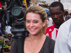 Jenn Gross in Africa