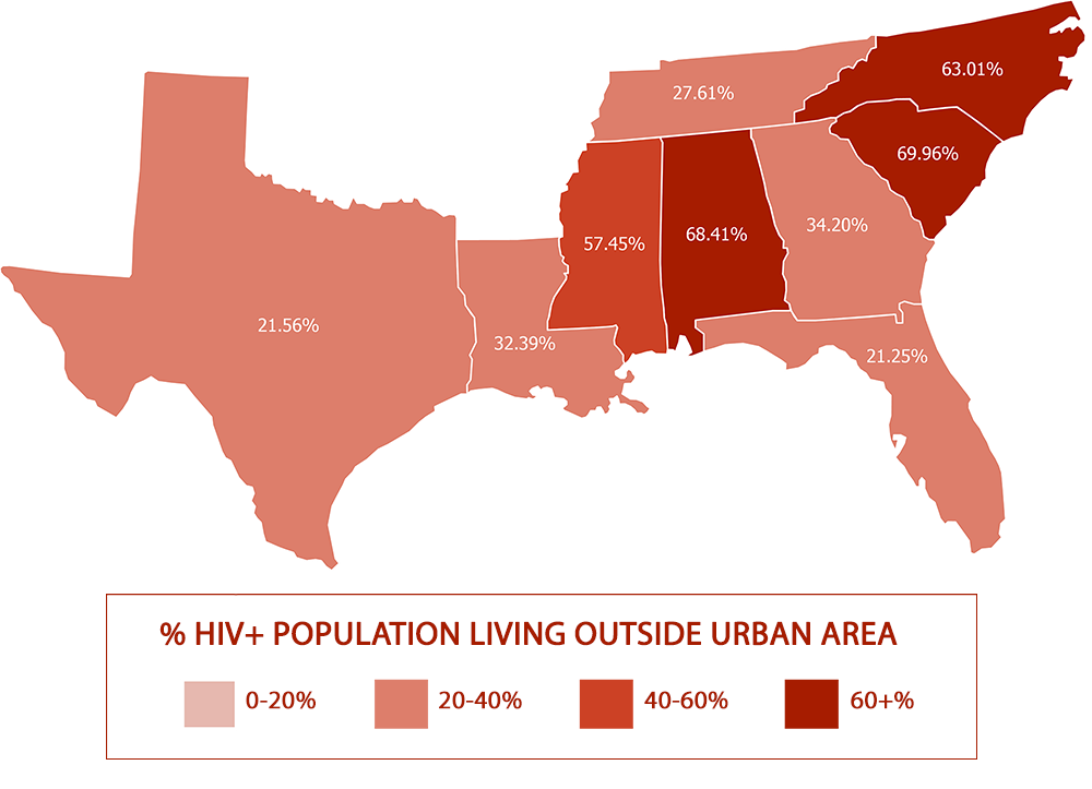 CDC HIV Prevention Funding Fails to Keep Pace with US Souths