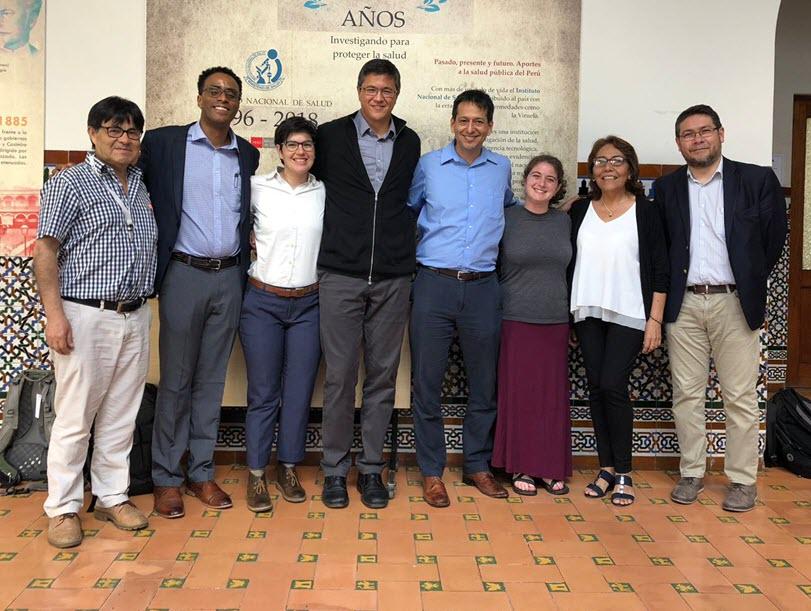Group Photo in Peru
