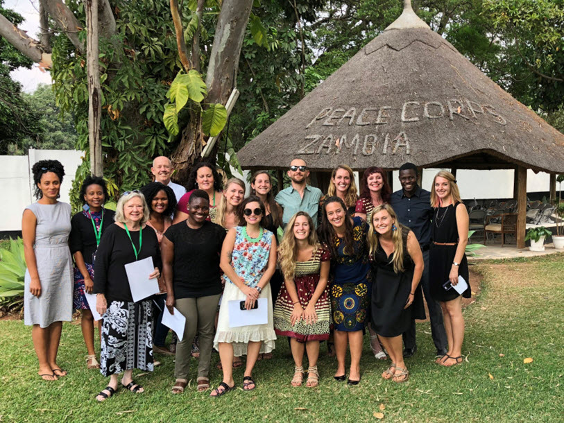 from texas to zambia an msc gh grad joins the peace corps duke