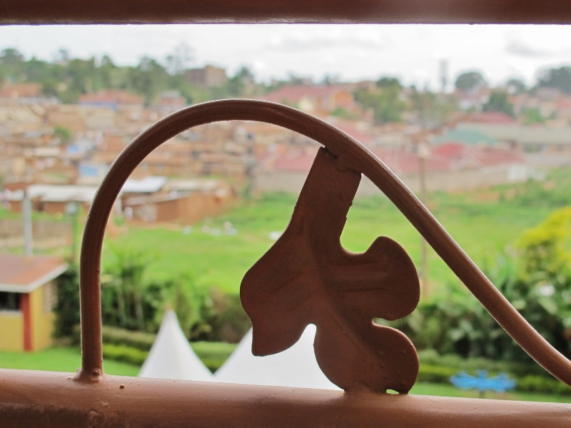 View from Kampala hotel