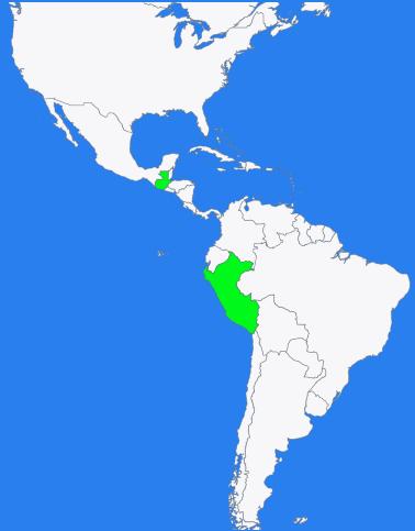 Peru and Guatemala