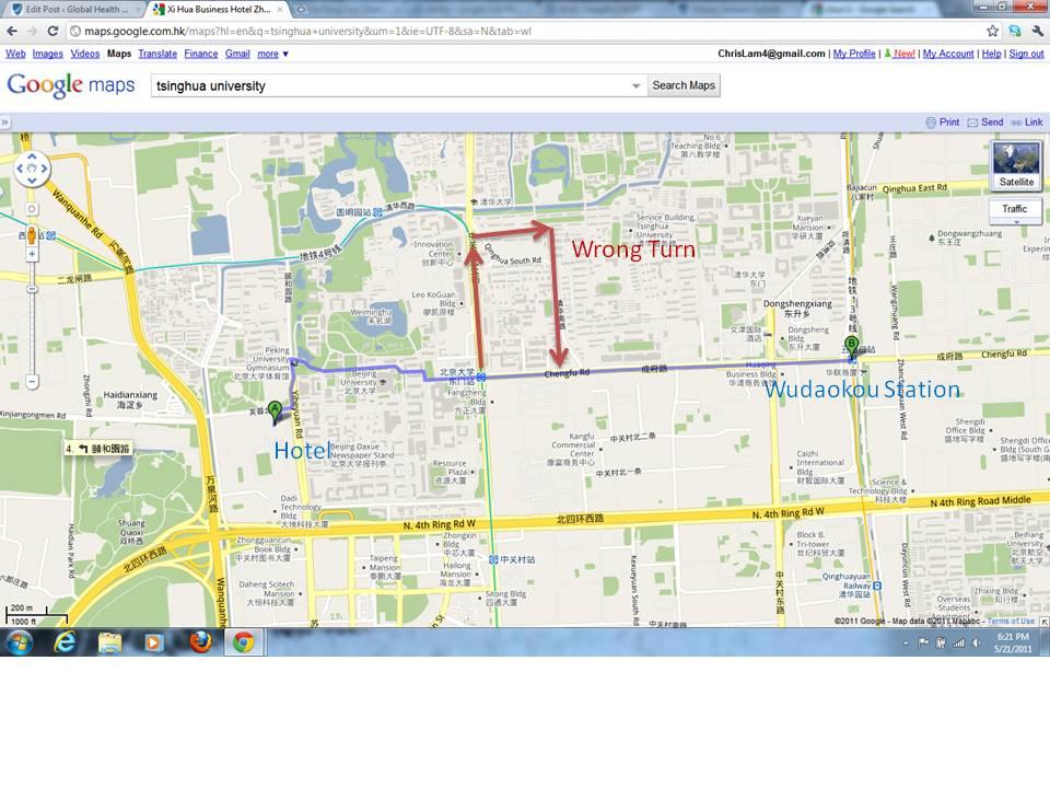 Tsinghua University Campus Map.Apartment Hunting Beijing Style Part I Duke Global Health Institute