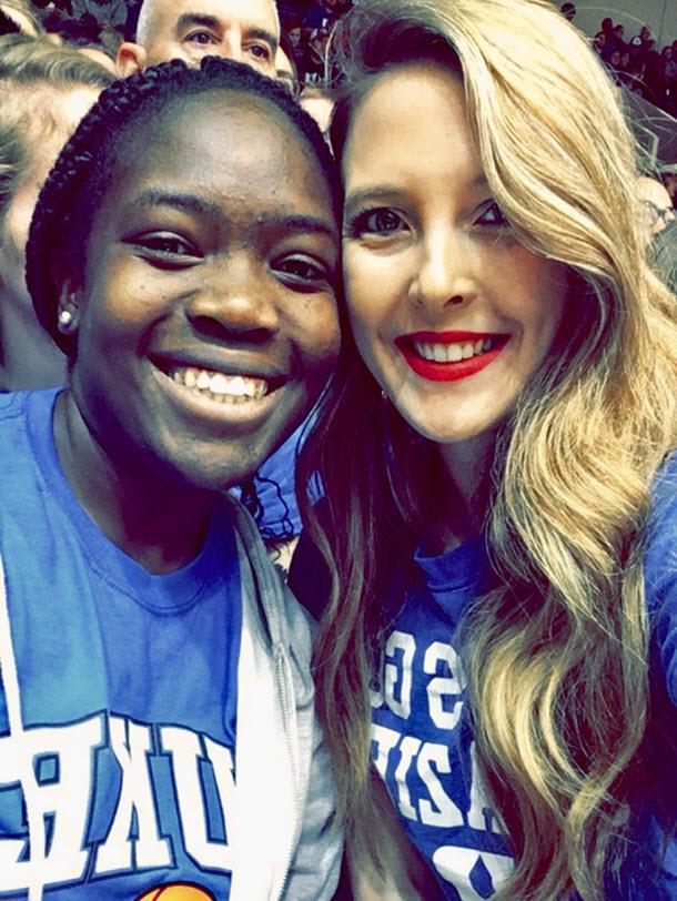 Yolande and Ashley