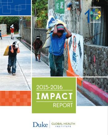DGHI Impact Report: 2015-2016 cover