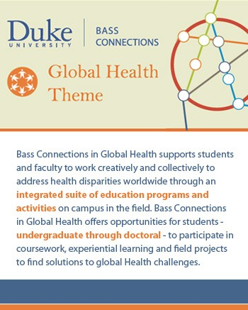 Bass Connections - Global Health Theme