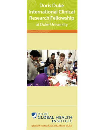 Doris Duke International Clinical Research Fellowship Brochure
