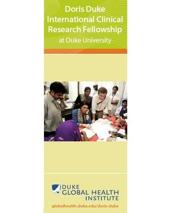 Doris Duke International Clinical Research Fellowship Brochure