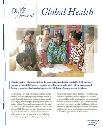 Duke Forward - Global Health