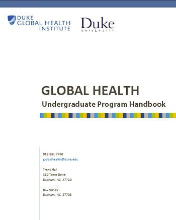 Undergraduate Program Handbook
