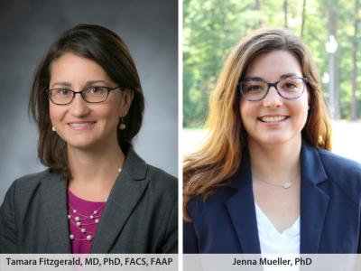 Dr. Tamara Fitzgerald and Dr. Jenna Mueller, Duke University