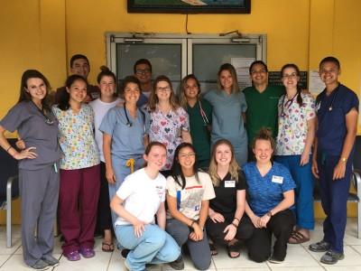 mVax team and collaborators in Honduras