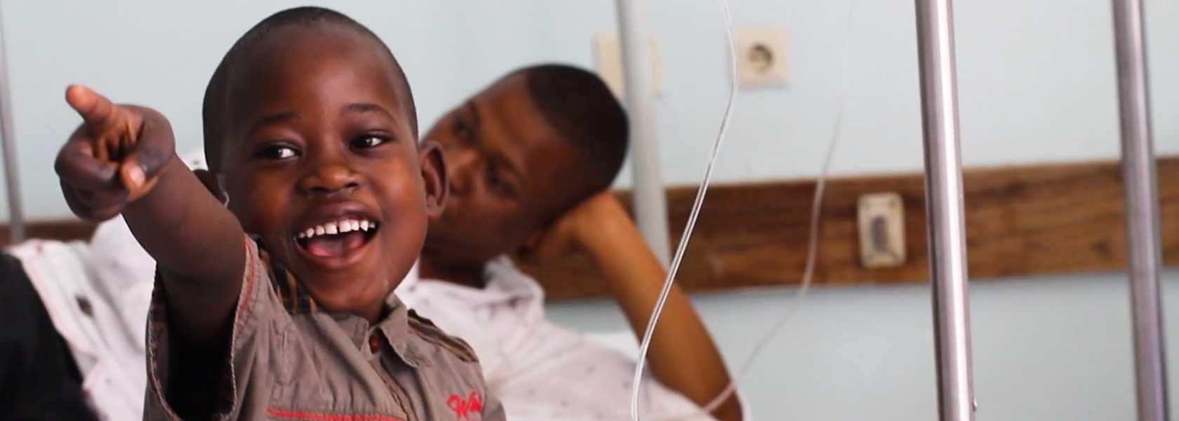 Patients in Tanzania
