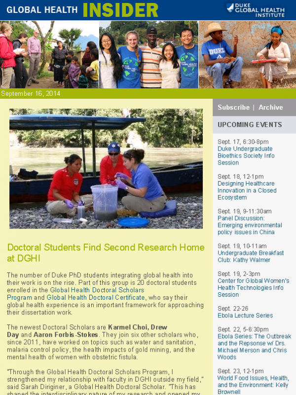 Global Health Insider Sept. 16, 2014