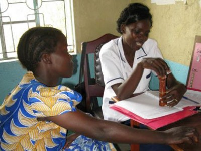Family planning counseling in Kisumu, Kenya