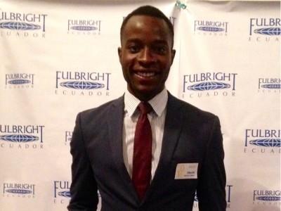 Okechi Boms Fulbright Portrait