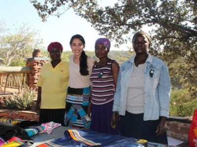 Kate in South Africa