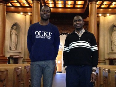 Kenneth & Henry First Duke-MUK Students