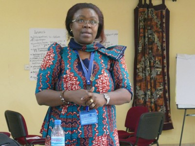 Blandina Mmbaga Presents at Symposium