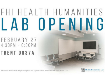 Duke Franklin Humanities Institute, Duke Health Humanities Lab new lab space