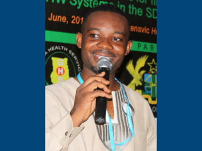 CHIEF NATHANIEL EBO NSARKO, Country Director, Ghana, One Million Community Health Workers Campaign