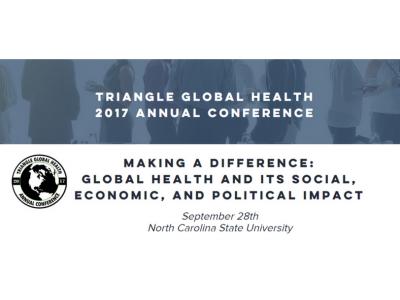 Triangle Global Health 2017 Annual Conference