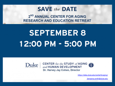 Duke Center for the Study of Aging and Human Development retreat