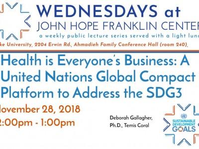 SDG3 poster