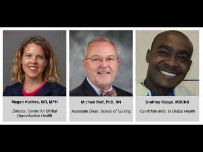 Duke Center for Global Reproductive Health Speaker Series, 11.1.19 Panelists