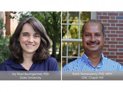 Joy Noel Baumgartner and Rohit Ramaswamy