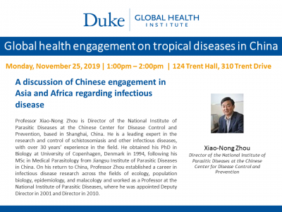 Duke Global Health Institute Event