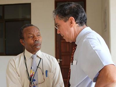 John Bartlett in Tanzania