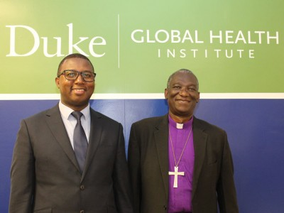 Gileard Masenga and Bishop Shoo