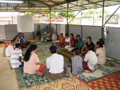Burmese Caregivers in Happy Families Program