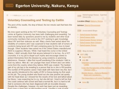 Caitlin's blog