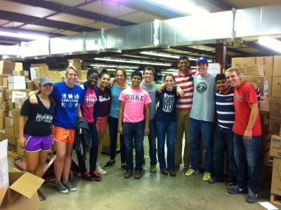 Duke REMEDY volunteers