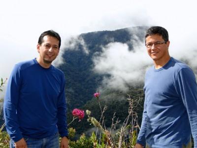 Ernesto Ortiz and Bill Pan