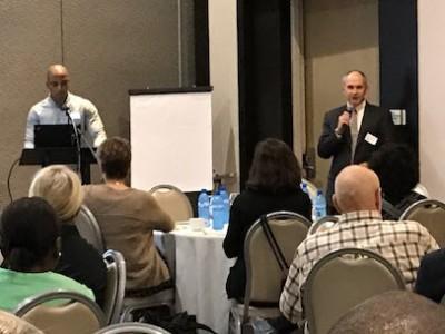David Walmer Giving Intro at HsCC Meeting