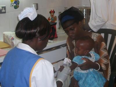 Uganda malnutrition unit