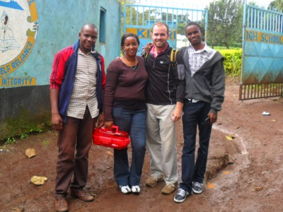 John Stanifer & Tanzanian Study Team