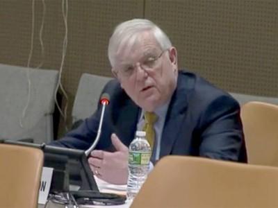 Mike Merson UN Panel
