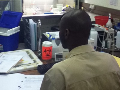 lab in botswana