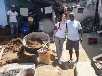 Nicole in Senegal