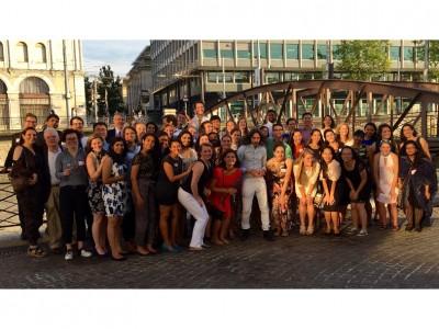 Group Shot - Duke Program for Global Policy and Governance Fellows