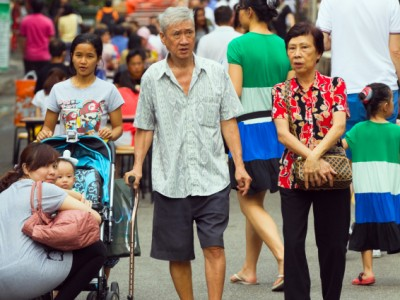 Singapore family