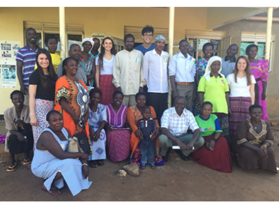 SRT Uganda Team and Village Health Team