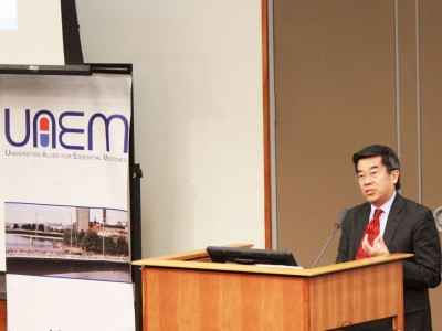 Dr. So presenting at 2014 UAEM Conference