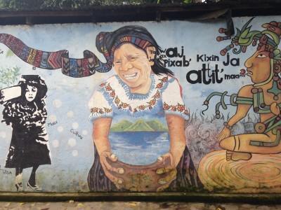 Mayan Mural of Woman