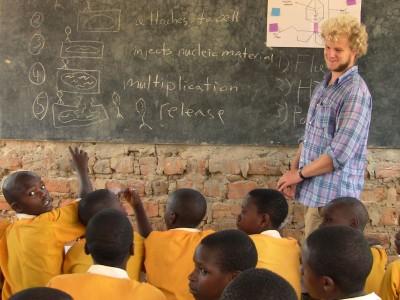 Alex Kluge teaching